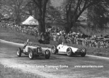 Mercedes Benz W154 Richard Seaman & ERA Billy Cotton 1938 Donington GP